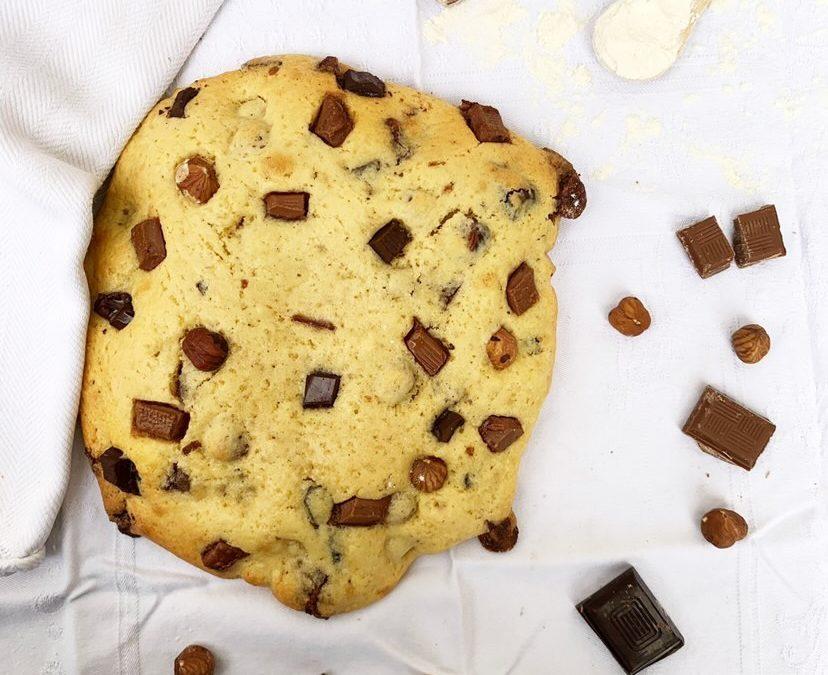 Cookie XXL au sucre de coco