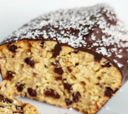 Bounty cake réalisé par Marie sur instagram avec notre sucre de coco