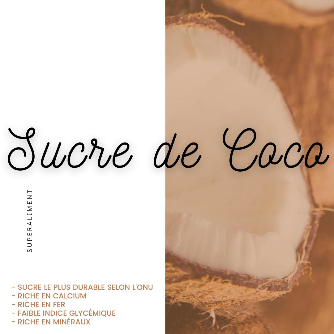Les bienfaits du sucre de coco BioSavor