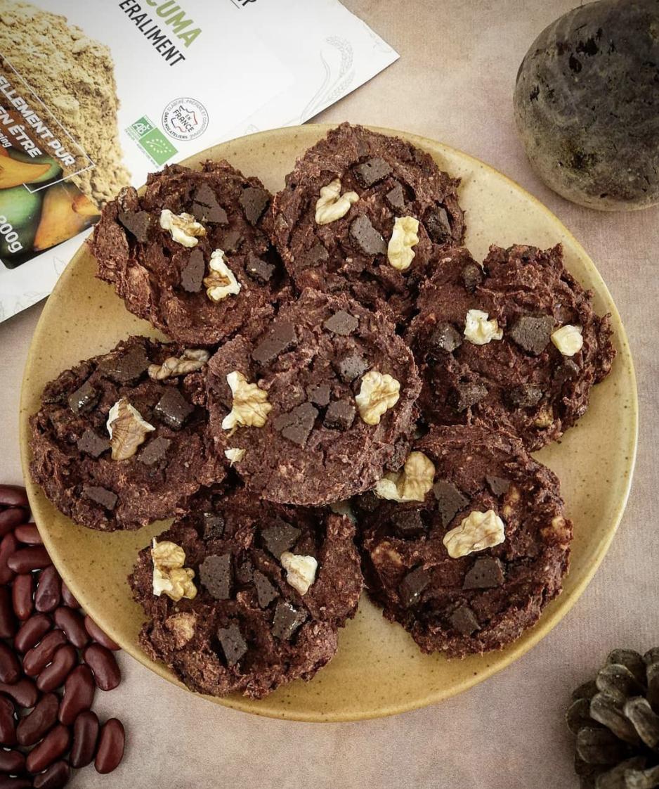 cookies au lucuma réalisé par anne sur instagram