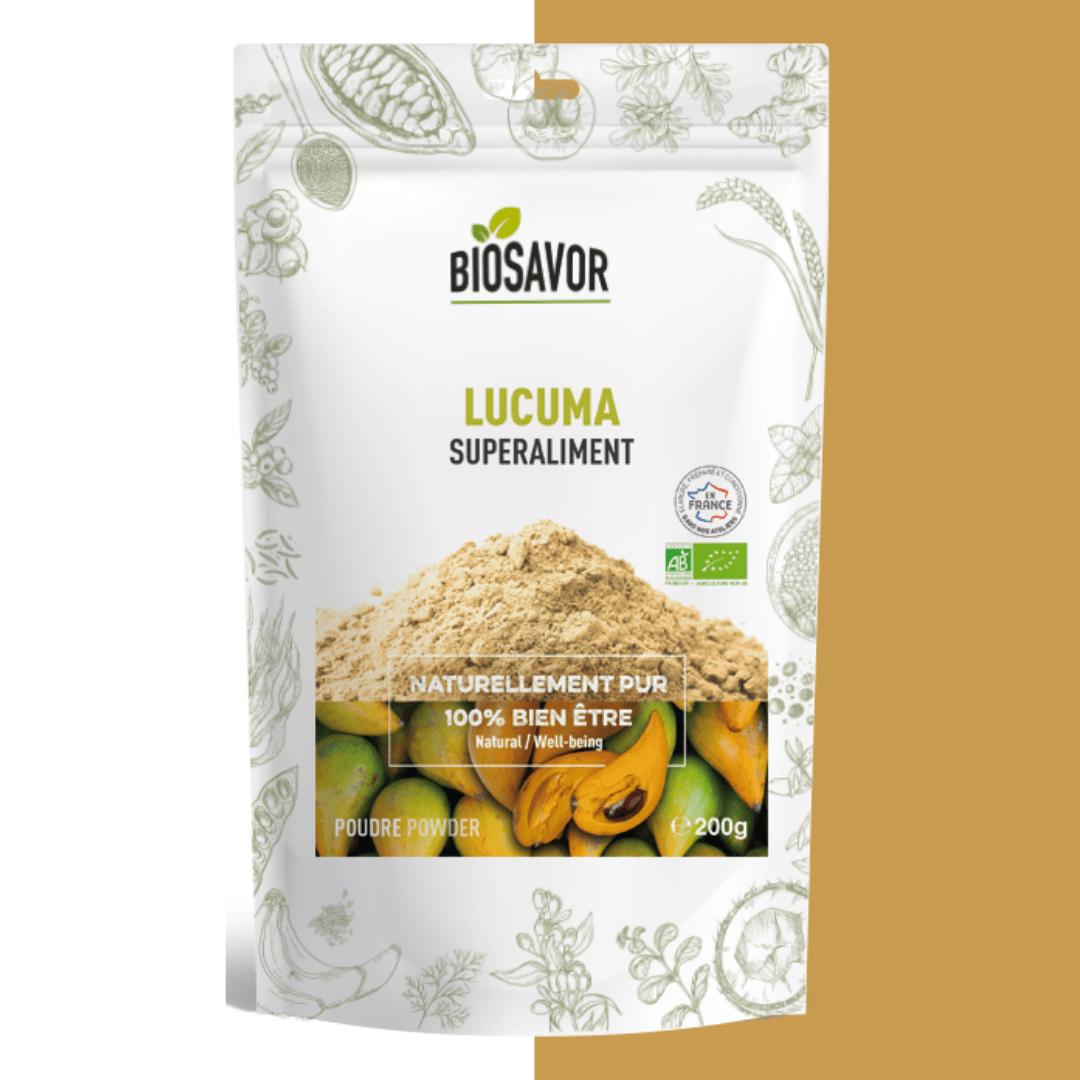 lucuma en poudre bio de la marque biosavor