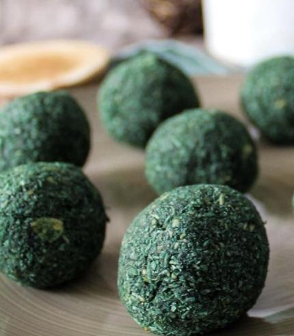 recette énergy balls spiruline biosavor